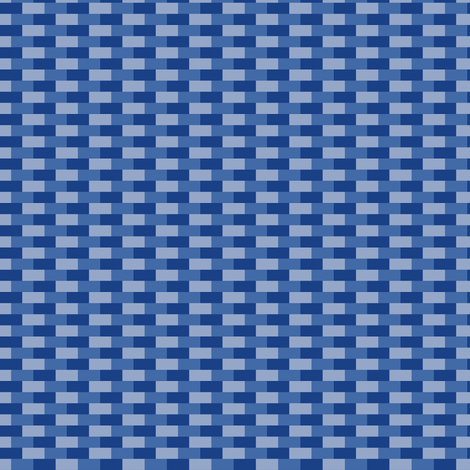 Bricks (Blue/Violet) fabric by shannonmac on Spoonflower - custom fabric