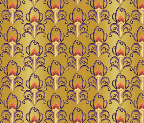 Olympic_gold fabric by kirpa on Spoonflower - custom fabric