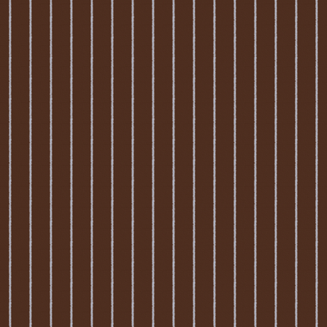 Brown and Blue Pinstripe fabric by peacoquettedesigns on Spoonflower - custom fabric