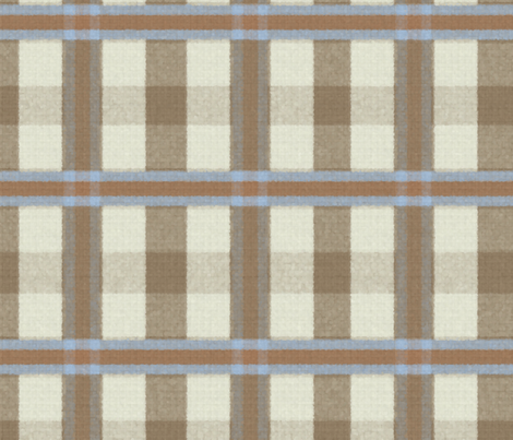 Andy's Plaid fabric by peacoquettedesigns on Spoonflower - custom fabric