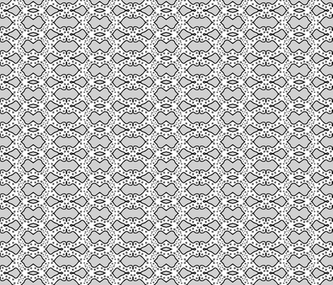 Paw Print Maze fabric by robin_rice on Spoonflower - custom fabric
