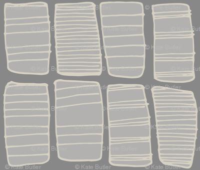 Gray Hand-drawn Boxes