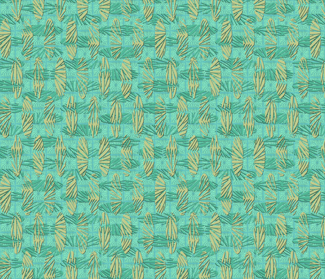 ocean_palms fabric by glimmericks on Spoonflower - custom fabric