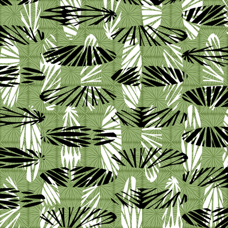 through the trees fabric by glimmericks on Spoonflower - custom fabric