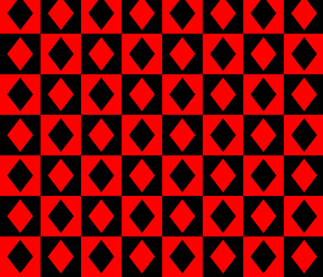 Harley Quinn fabric by darwinwhispers on Spoonflower - custom fabric