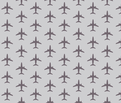 light_grey_dark_planes fabric by mysticalarts on Spoonflower - custom fabric