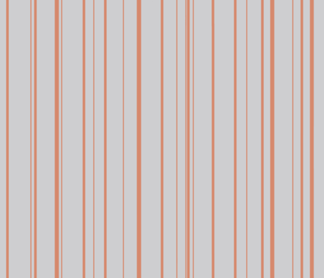 terra_cotta_stripes_on_grey fabric by mysticalarts on Spoonflower - custom fabric