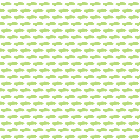 Tiny Green Cars fabric by smuk on Spoonflower - custom fabric