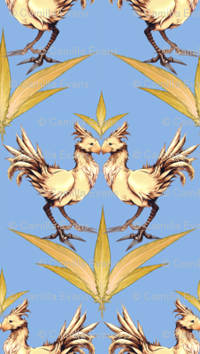 Chocobo Vintage (Blue)