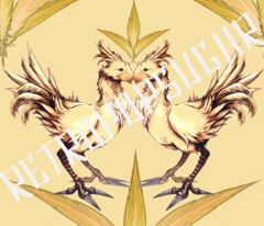 Chocobo Vintage (Cream)