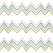Indian Season - Chevron Powder blue