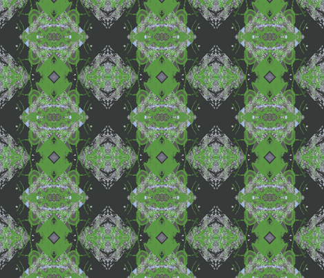 Green-eyed Swedish Goth fabric by susaninparis on Spoonflower - custom fabric