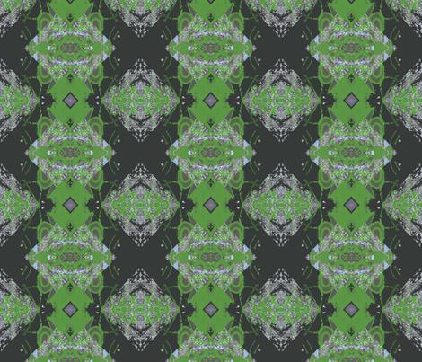 Green-eyed Swedish Goth fabric by susaninparis on Spoonflower - custom fabric
