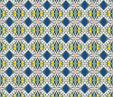 Royal Flush-small fabric by susaninparis on Spoonflower - custom fabric