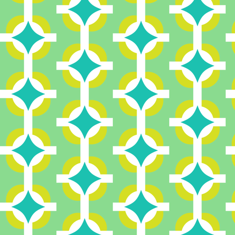 diamond fabric by bubbledog on Spoonflower - custom fabric