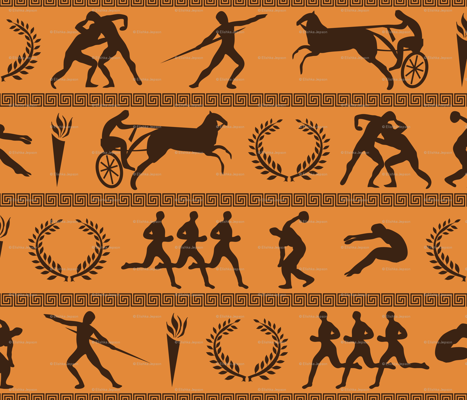 a report on the ancient olympic games in greece and the spirit of olympic athletes What events took place in the ancient olympic games for the women athletes about without discrimination of any kind and in the olympic spirit.