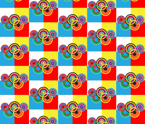 olympic celebration 2 fabric by isabella_asratyan on Spoonflower - custom fabric