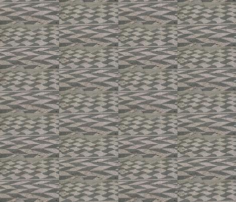 Mosaic fabric by zippyartist on Spoonflower - custom fabric
