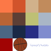 Connors Nursery Color Pallette