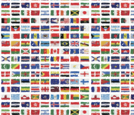 FLAGS_of_the_Oympics fabric by mj_designs on Spoonflower - custom fabric