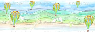 Balloons and Birdies