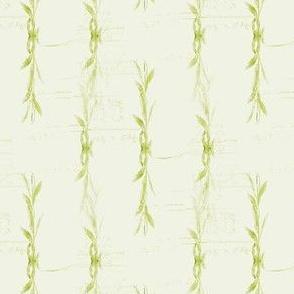 Green Willow Stripes