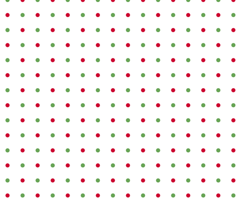 Poinsettia Joy dots
