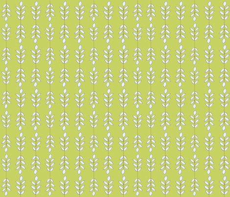 leaves fabric by shellie_denise on Spoonflower - custom fabric