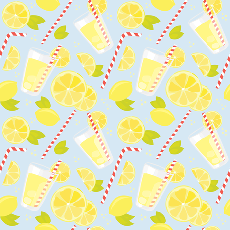 Regular Lemonade fabric by renata_f on Spoonflower - custom fabric