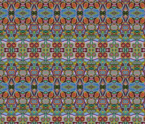 Circle_Painting_068 fabric by edanddoris on Spoonflower - custom fabric