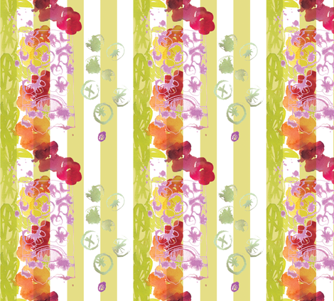 cestlaviv_monjardin8x9 fabric by cest_la_viv on Spoonflower - custom fabric