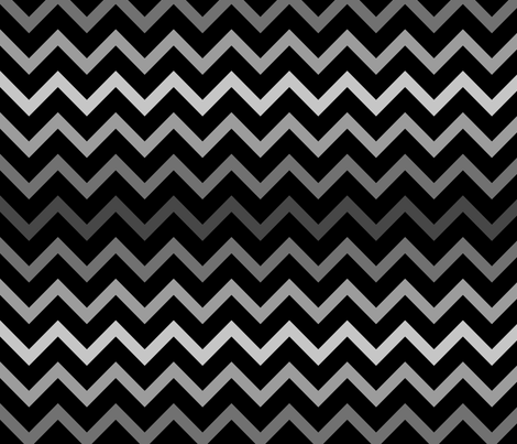 Medal Chevron - Greys fabric by shelleymade on Spoonflower - custom fabric