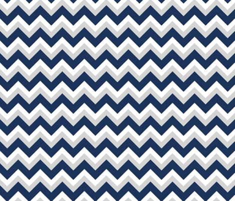Choppy Sea fabric by fleamarkettrixie on Spoonflower - custom fabric