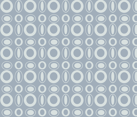 Silver Rings fabric by arttreedesigns on Spoonflower - custom fabric