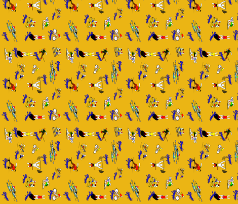 Olympix2 fabric by chubichics on Spoonflower - custom fabric