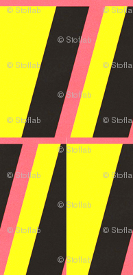 Leda Yellow, Pink & Black