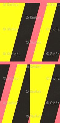 Leda Yellow, Pink & Black