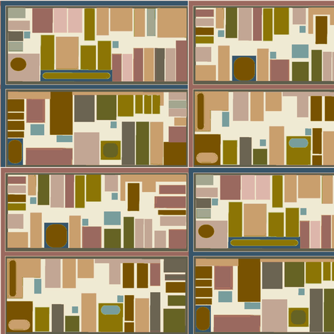cityscape fabric by holdit on Spoonflower - custom fabric