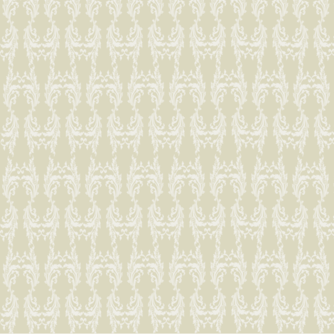 Guest_Damask_tan fabric by fanciful_ink on Spoonflower - custom fabric