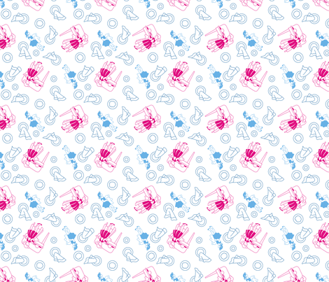 Dishwashing fabric by tuppencehapenny on Spoonflower - custom fabric