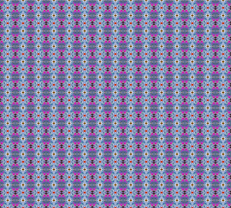 Cabbage in Mirror Repeat fabric by anniedeb on Spoonflower - custom fabric