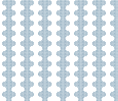 DOTS RIVER - Deep Ocean fabric by hitomikimura on Spoonflower - custom fabric