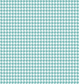 Turquoise Houndstooth