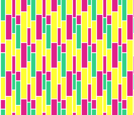 neon_subway fabric by fridabarlow on Spoonflower - custom fabric