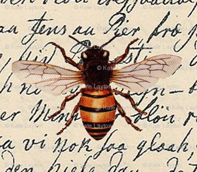 bee_on_parchment