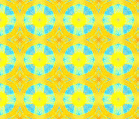 Arcs of Light fabric by feebeedee on Spoonflower - custom fabric