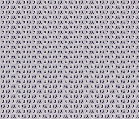 Run!  fabric by mbsmith on Spoonflower - custom fabric