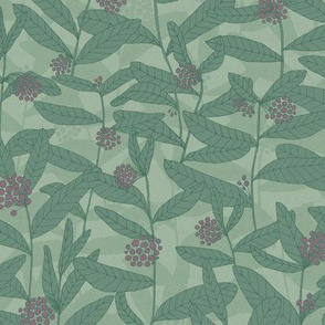 Milkweed Allover Print