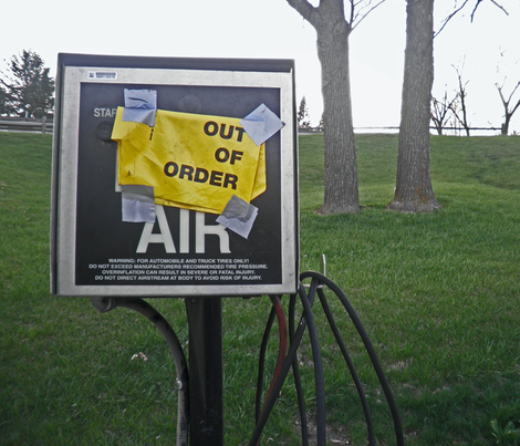Air Out of Order