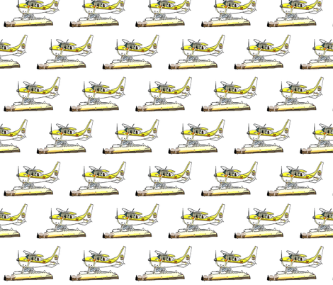 Airplane fabric by cutiecat on Spoonflower - custom fabric
